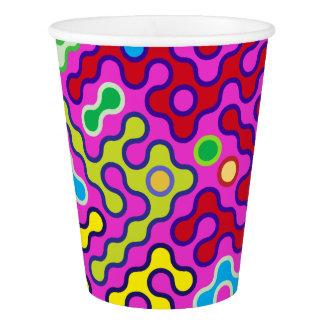Het kleurrijke Abstracte Psychedelische Patroon