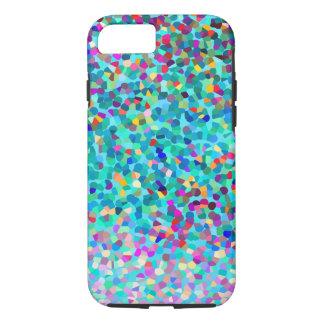 Het kleurrijke Blauwe Multicolored Abstracte iPhone 7 Hoesje