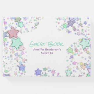 Het kleurrijke Boek van de Gast van de Sterren van