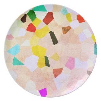 Het kleurrijke Bord van het Patroon van het