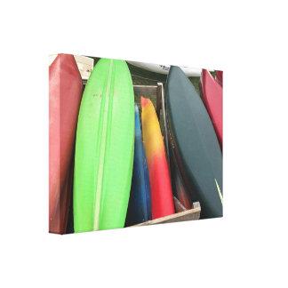 Het kleurrijke Canvas van de Kano