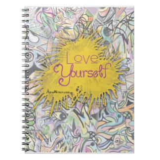 Het kleurrijke Dagboek van het Notitieboekje Ringband Notitieboek