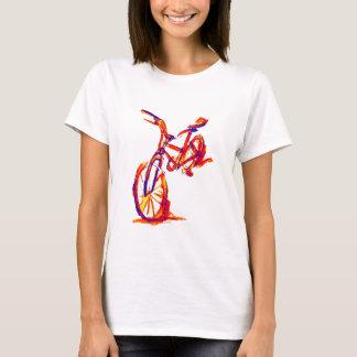 Het kleurrijke Design van de Fiets T Shirt