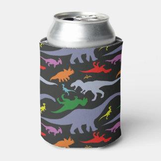 Het kleurrijke (Donkere) Patroon van de Dinosaurus Blikjeskoeler