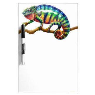 Het kleurrijke Droge Kameleon van de Panter wist R Whiteboards