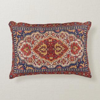 Het kleurrijke Etnische Bloemen Geometrische Decoratief Kussen