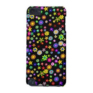 Het kleurrijke Geval van de Aanraking van Bloemen iPod Touch 5G Hoesje
