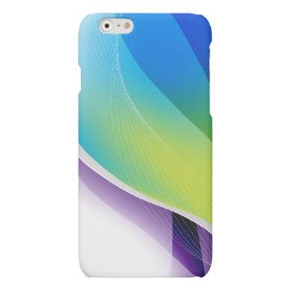 Het kleurrijke Grafische iPhone van Wervelingen en Matte iPhone 6 Hoesje