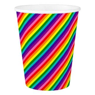 Het kleurrijke Heldere Patroon LGBT van de Strepen