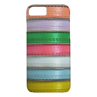 Het kleurrijke hoesje van de iphoneportefeuille