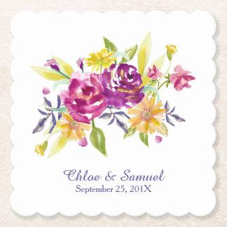 Het kleurrijke Huwelijk van het Boeket van de Viltjes