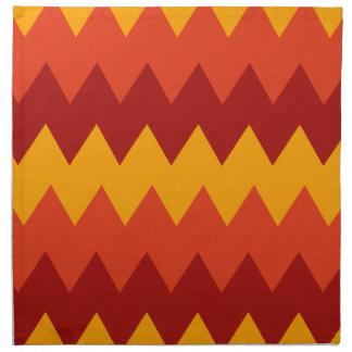 Het kleurrijke Indische Patroon van de Deken Servet