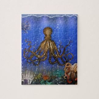 Het Kleurrijke Leger van octopussen - Foto Puzzels