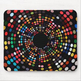 Het Kleurrijke Lichte Stip Mousepad van Savvy Muismatten
