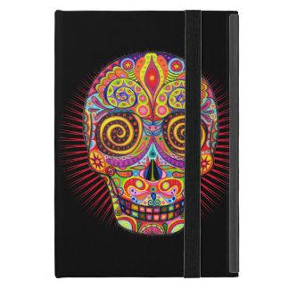 Het kleurrijke MiniGeval van de Schedel van de Sui iPad Mini Covers
