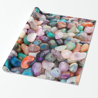 Het kleurrijke Natuurlijke Verpakkende Document Inpakpapier
