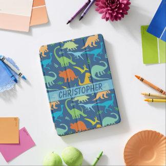 Het kleurrijke Ontwerp van Dinosaurussen om te iPad Pro Cover
