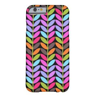 Het kleurrijke Ontwerp van het Patroon van het Bla Barely There iPhone 6 Hoesje