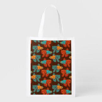 Het kleurrijke Opnieuw te gebruiken Bolsa van de Boodschappentas