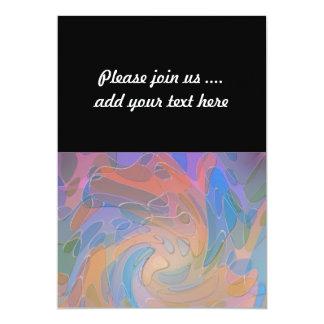 Het kleurrijke Pastelkleur Gesimuleerde Abstracte Kaart