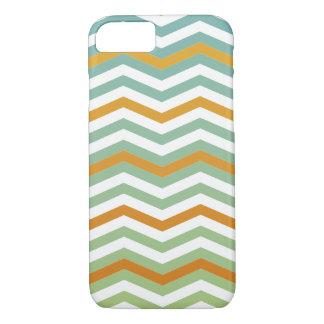 Het kleurrijke Patroon van de Chevron iPhone 8/7 Hoesje