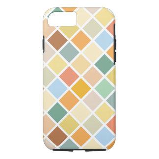 Het kleurrijke Patroon van de Diamant iPhone 7 Hoesje