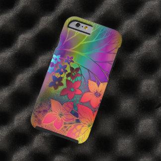 Het kleurrijke Retro stropdas-Kleurstof Tough iPhone 6 Hoesje