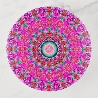 Het kleurrijke Roze en Art. van Aqua Mandala Sierschaaltjes
