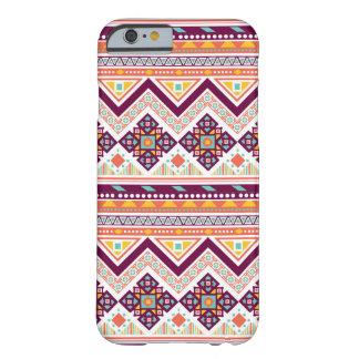 Het kleurrijke Stammen Azteekse Patroon van de Barely There iPhone 6 Hoesje