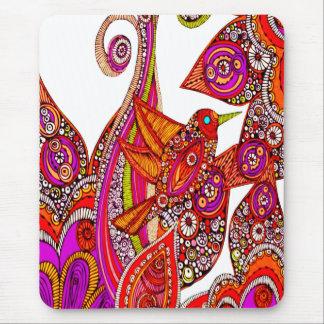 Het kleurrijke Stootkussen van de Muis van de Muismat