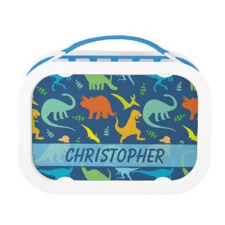 Het kleurrijke Te personaliseren Patroon van de Lunchbox