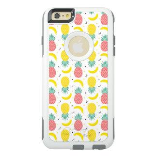 Het kleurrijke Tropische Patroon van het Fruit OtterBox iPhone 6/6s Plus Hoesje