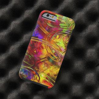 het kleurrijke vectorart. van de tough iPhone 6 case