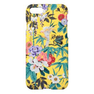Het kleurrijke Vintage Japanse BloemenPatroon van iPhone 8/7 Hoesje