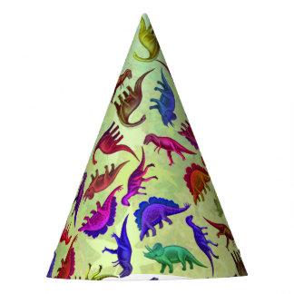 Het kleurrijke Voorhistorische Pet van de Partij Feesthoedjes