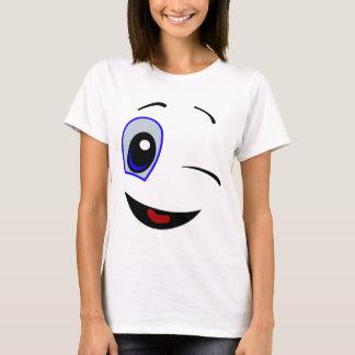 Het knipogen Smiley T Shirt