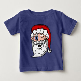 Het Knipogen van de cartoon het Hoofd van de Baby T Shirts