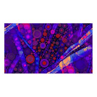 Het koele Abstracte Mozaïek van de Cirkels van de Visitekaartjes
