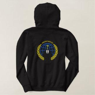 Het koele Anonieme Grote borduurwerk van het Geborduurde Sweater Hoodie