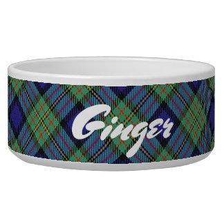 Het koele Geruite Schotse wollen stof van MacLaren Voerbakje