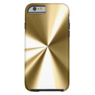 Het koele Gouden Metaal kijkt iPhone 6 hoesje Tough iPhone 6 Hoesje
