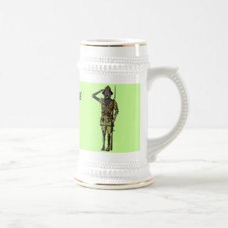 Het koele grappige ontwerp van de het biermok van bierpul