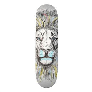 Het koele hand getrokken schets en skateboards