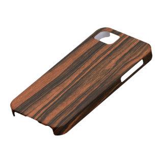 Het koele Hout kijkt iPhone 5 Hoesje