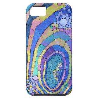 Het koele Kleurrijke Spiraalvormige Patroon van he Tough iPhone 5 Hoesje