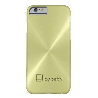 Het koele Metaal van het Roestvrij staal ziet Barely There iPhone 6 Hoesje