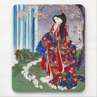 Het koele oosterse Japanse klassieke art. van de Muismat