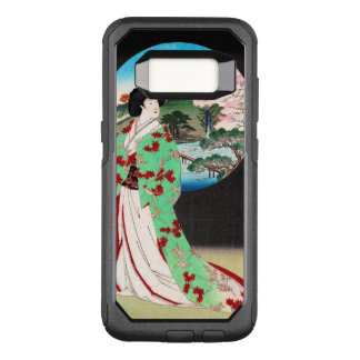 Het koele oosterse Japanse klassieke art. van de OtterBox Commuter Samsung Galaxy S8 Hoesje
