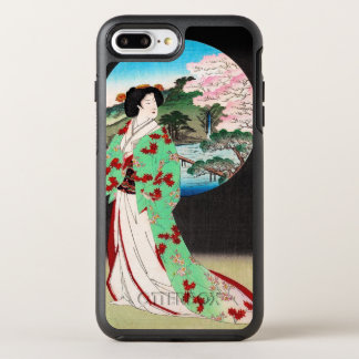 Het koele oosterse Japanse klassieke art. van de OtterBox Symmetry iPhone 8 Plus / 7 Plus Hoesje