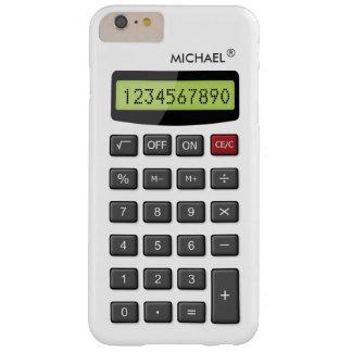 Het koele Patroon van de Calculator van de Pret Barely There iPhone 6 Plus Hoesje